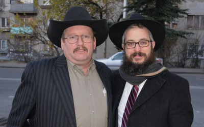 John And Rabbi Meir Kozlovsky