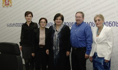 Ele Lembra meets Ministry of Education and Science in Georgia